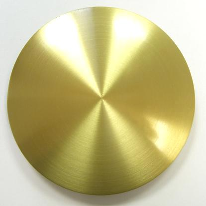 Satin Finish Brass Plated Bob