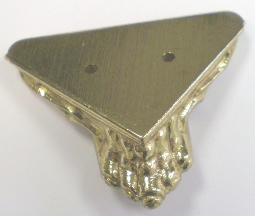 Cast Brass Ornamental Foot