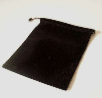 Jewellery Pouch (Black) 140mm x105mm